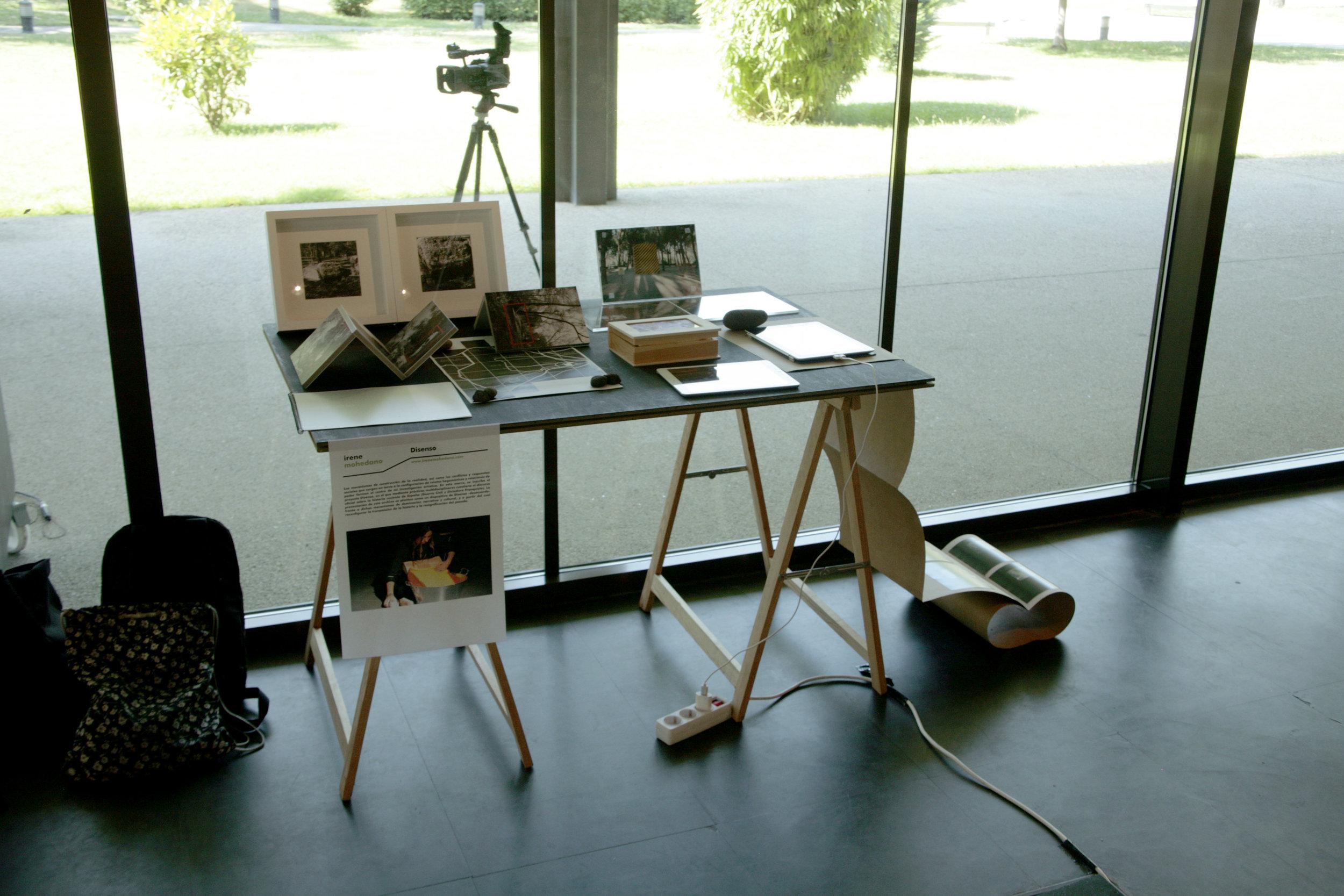 INTRANSIT (2016) Art Residency/ Presentation of Disenso Archive