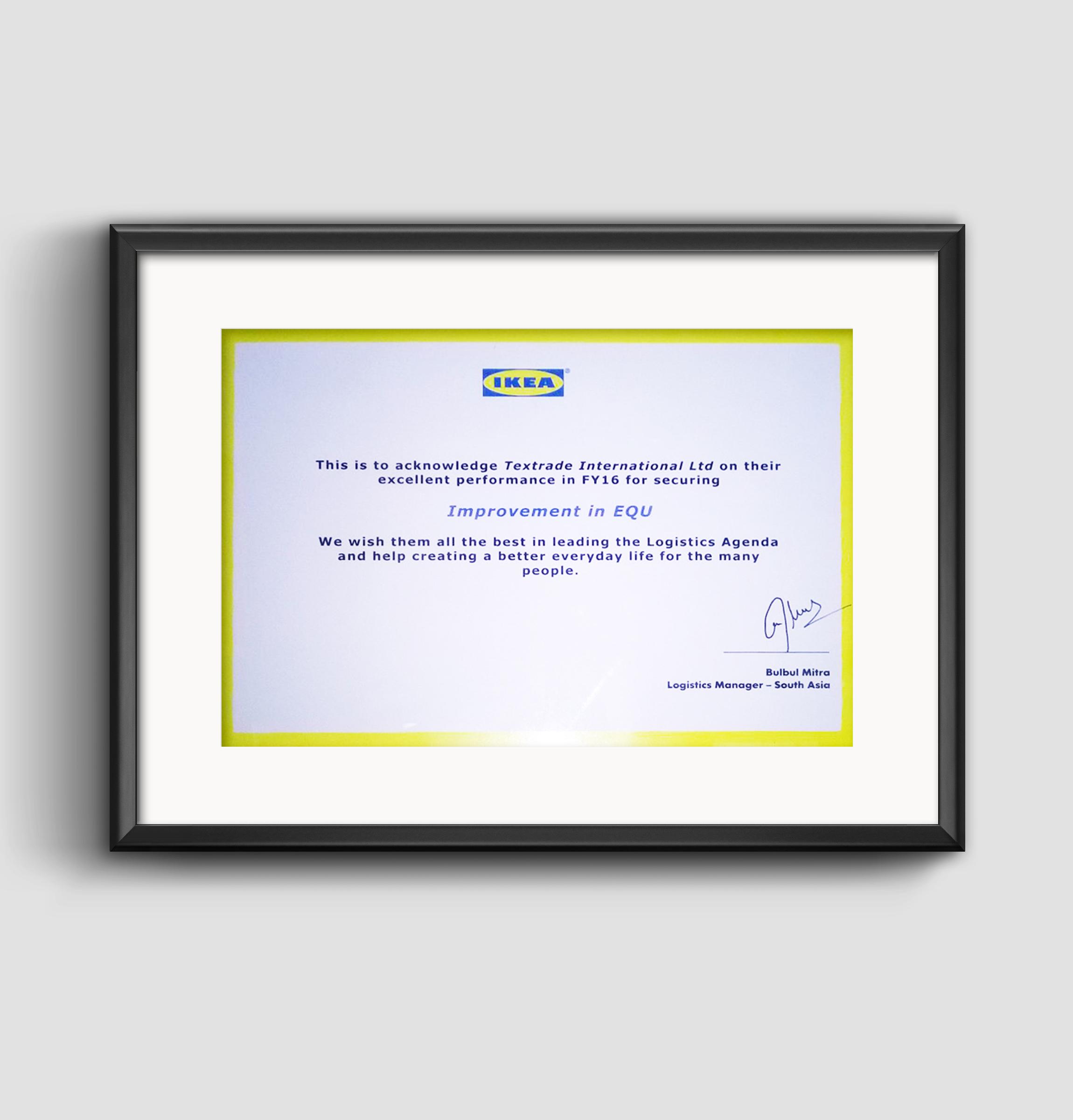 IKEA Logistics Award