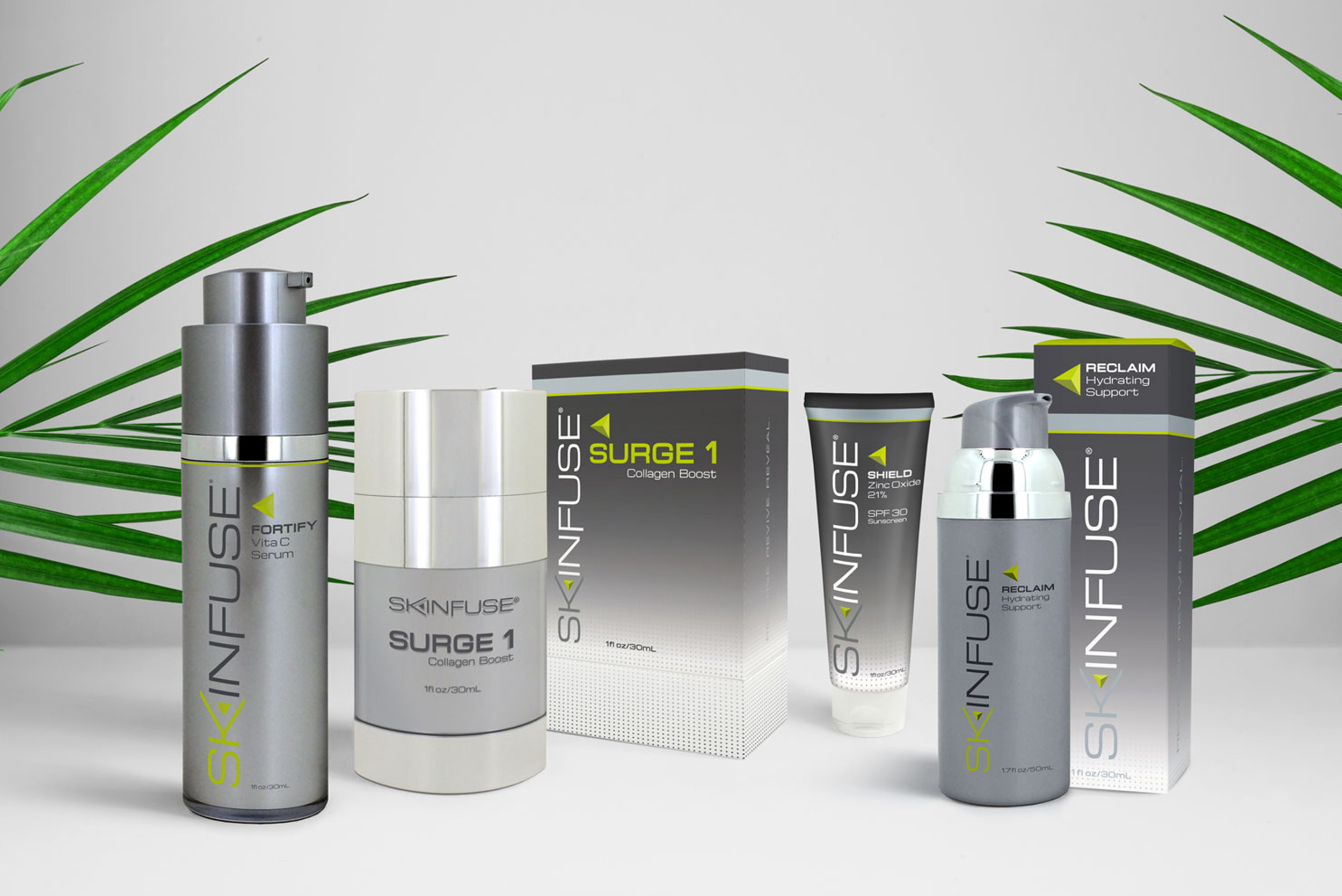 Skinfuse Skincare Package Design