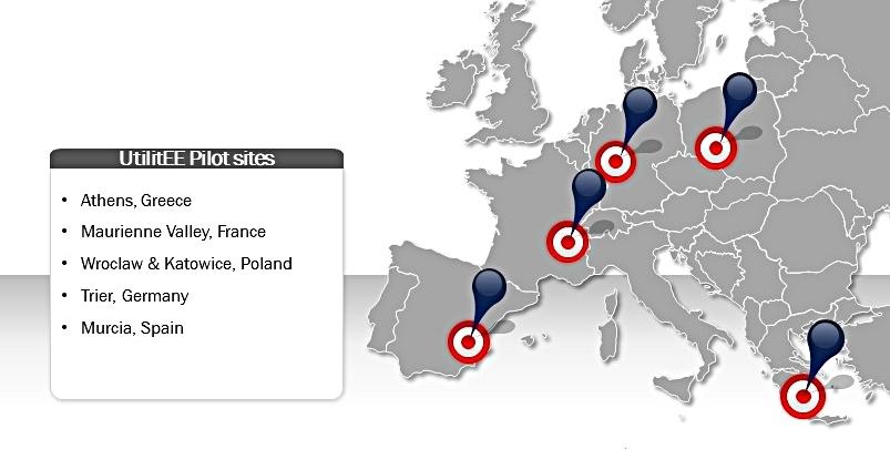 UtilitEE Pilot Sites in Europe