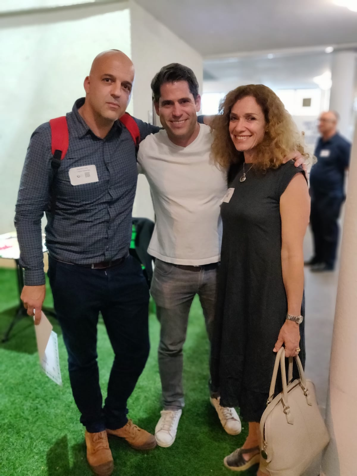 CEO and Founder Joe Levy, Kevin Baxpehler Managing Partner at Remagine VC, Michelle Orrelle Project Manager at 172ai.