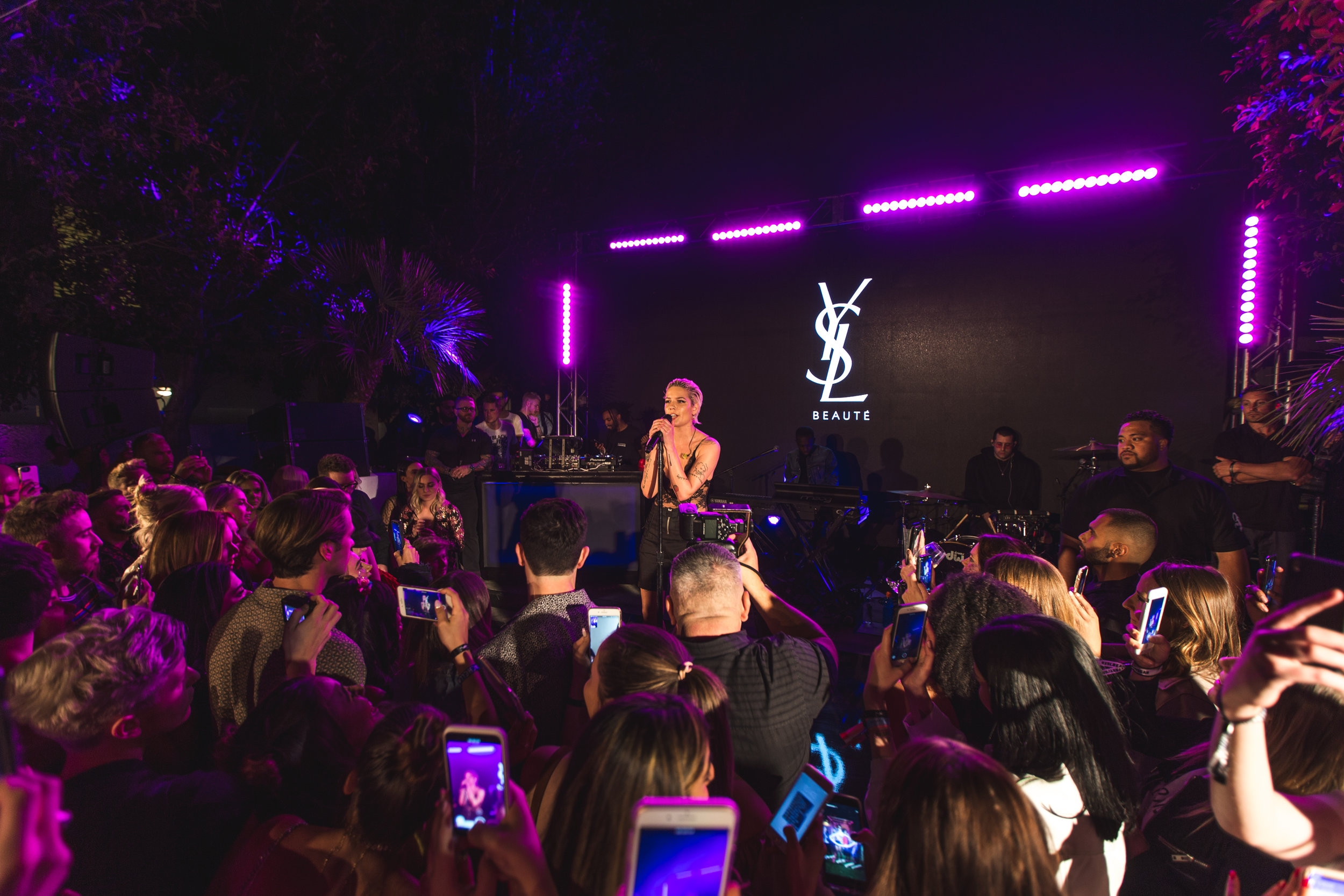 YSL Coachella Beauty Festival with Halsey  Palm Springs