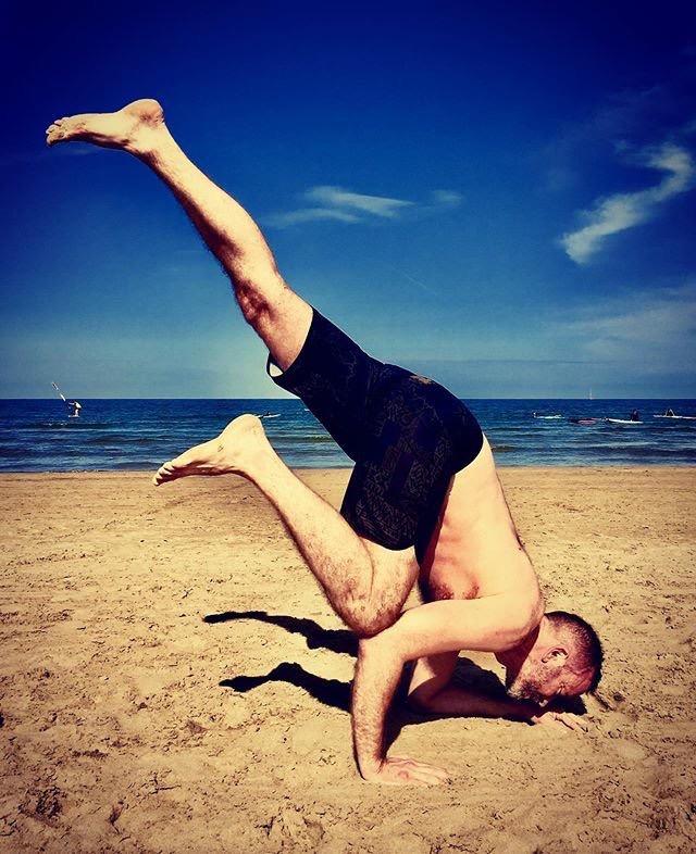 Thomas Thoroe - of Great Dane Yoga, LondonVinyasa Yoga
