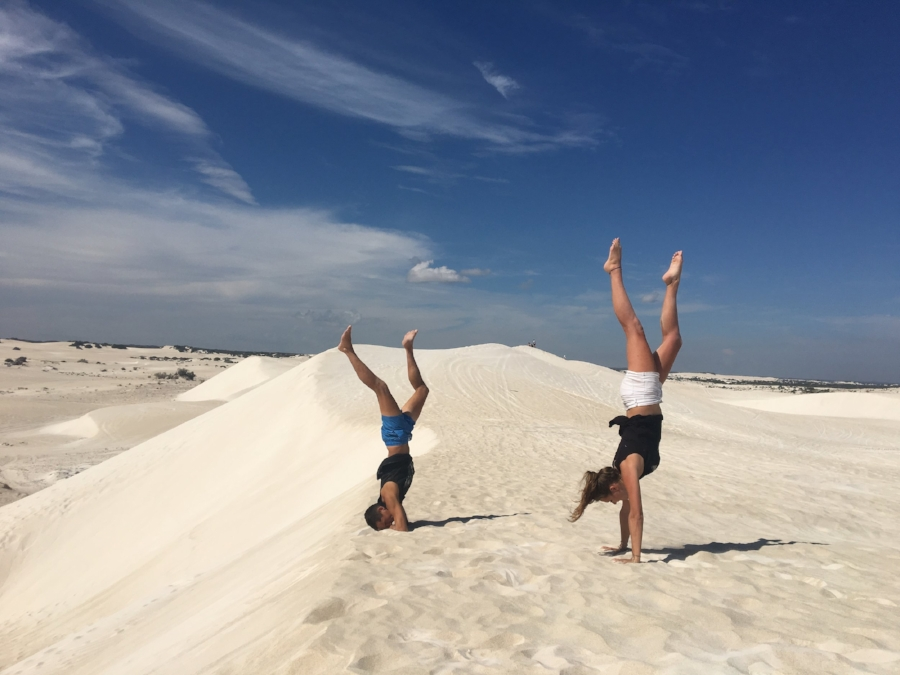 (The Sand Dunes - Lancelin)