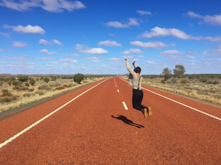 (On the Road - Red Centre Australia)