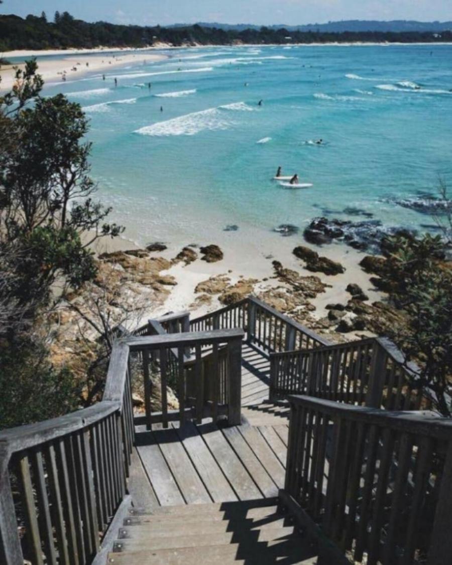 (Clarkes Beach View Point - Byron Bay)