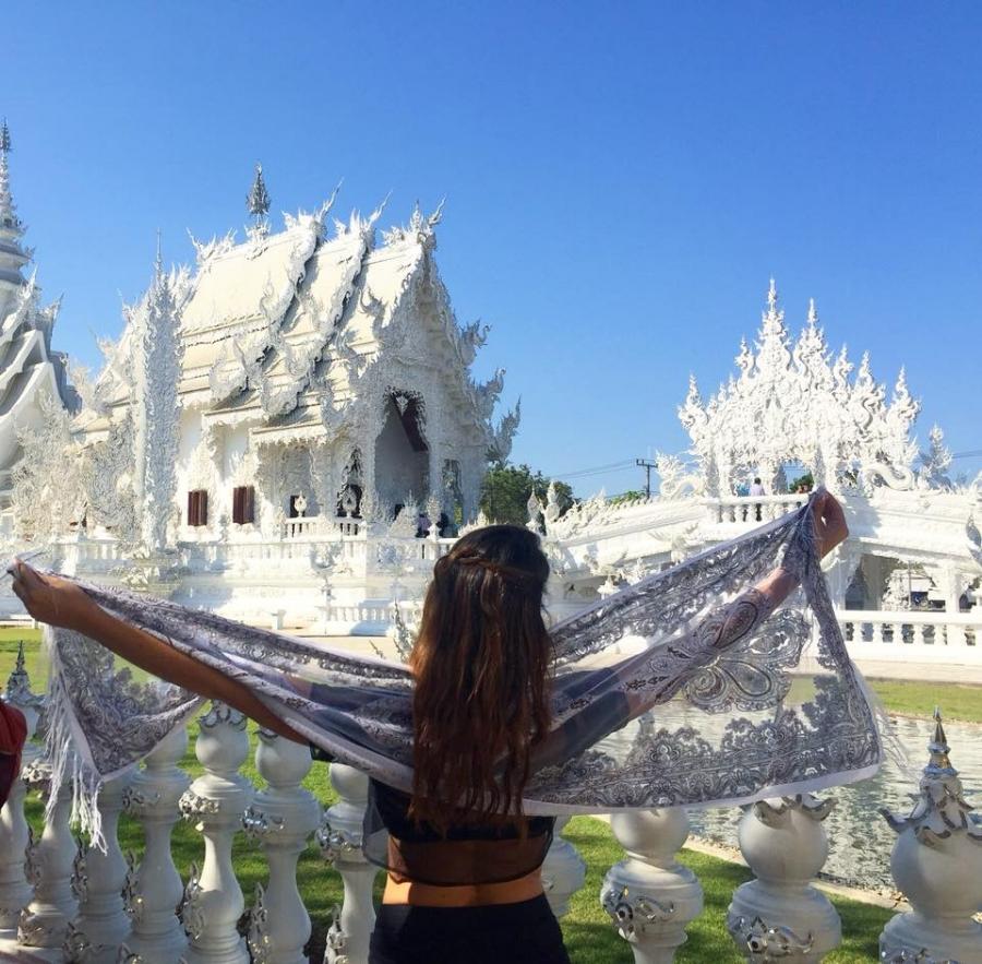(The White Temple - Chang Rai)