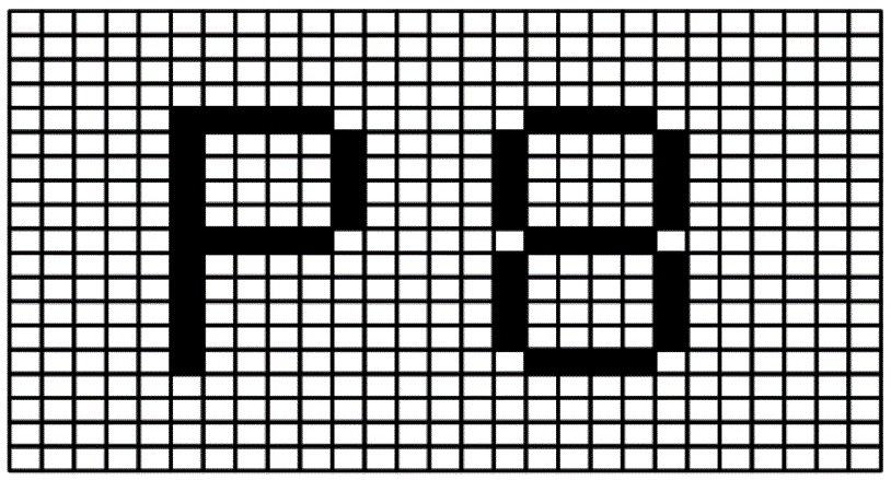 Images consist of dots called pixels. Combine the dots and you get an image.