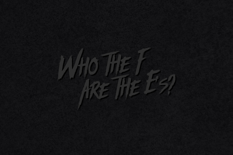 THE E'S - ______________