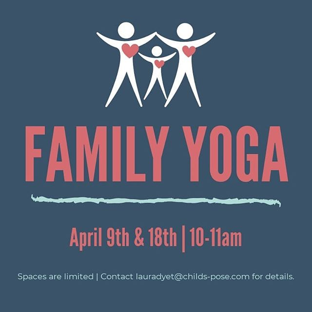 We'll be running a few Family Yoga sessions during the upcoming April holiday! Visit our website or Facebook page for details, and DM to reserve your spot! . . . #yoga #kidsyoga #familyyoga #cambourne #stneots #bourn #cambridgeshire #cambridge #papworth
