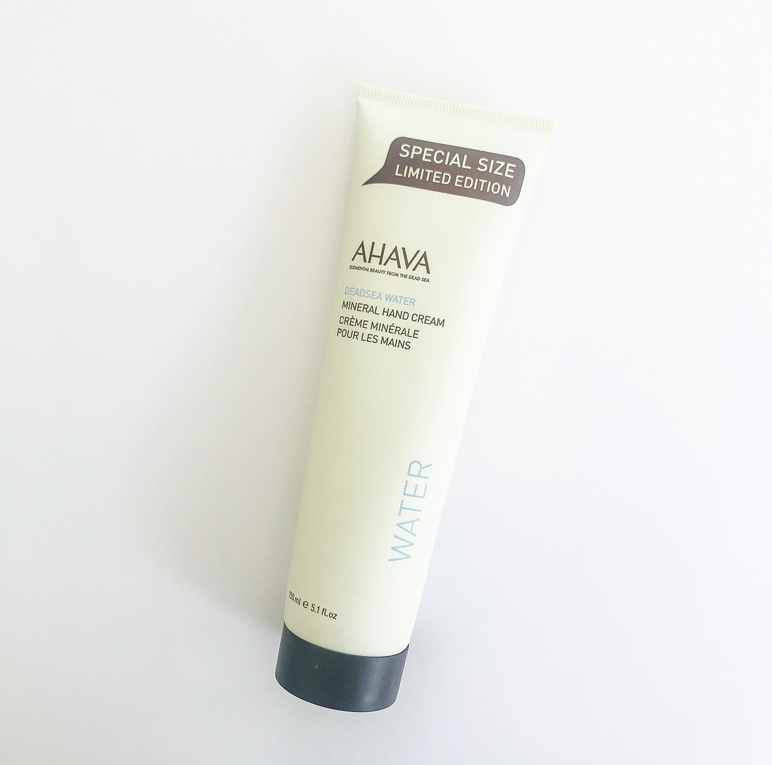 AHAVA Dead Sea Water - Mineral hand cream. Elemental Beauty from the Dead Sea.Special Size Limited Edition - 150mlR360 (retails for $45)