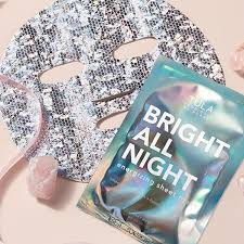 TULA - BRIGHT ALL NIGHT Energising Sheet Mask - This is no ordinary sheet mask. Tula have combined probiotics with fermented birch water and other skin superfoods to give you skin that lights up a room.Also contains Hyaluronic Acid and Citrus extract.Free from parabins, toxins, sodium sulphate, preservativesCruelty FreeR100 (retails for $24)