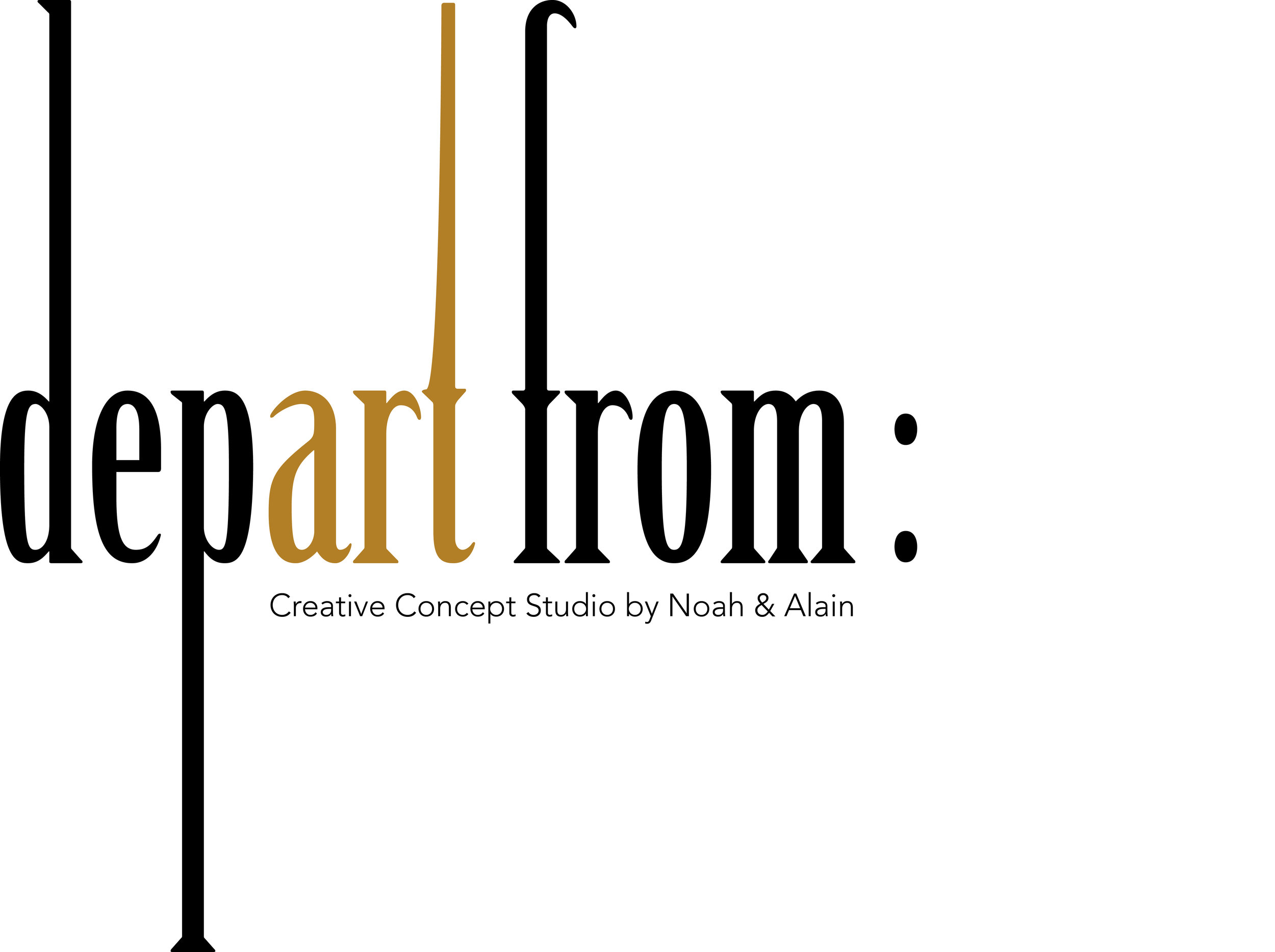 Art Gallery & Studio Depart From
