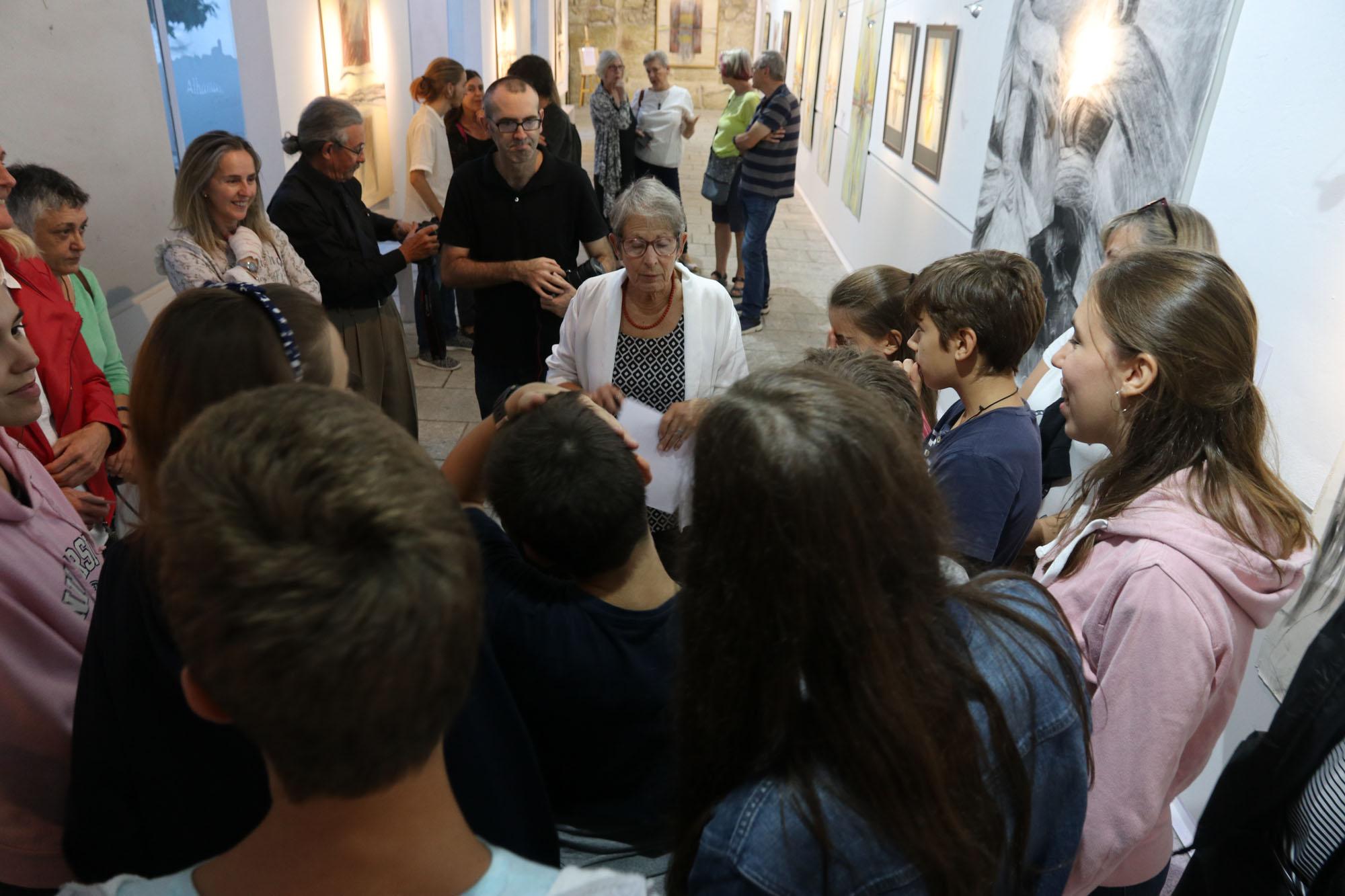 """Barbara Gillette Price exposición: """"El proceso creativo"""""""