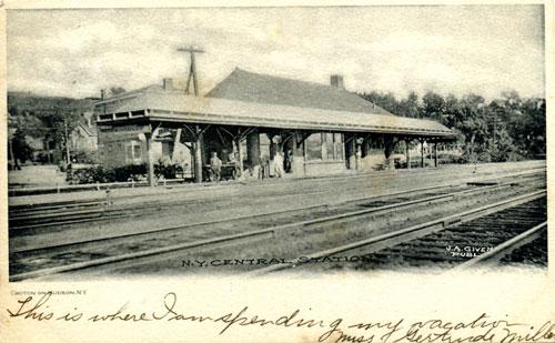 Croton Train Station