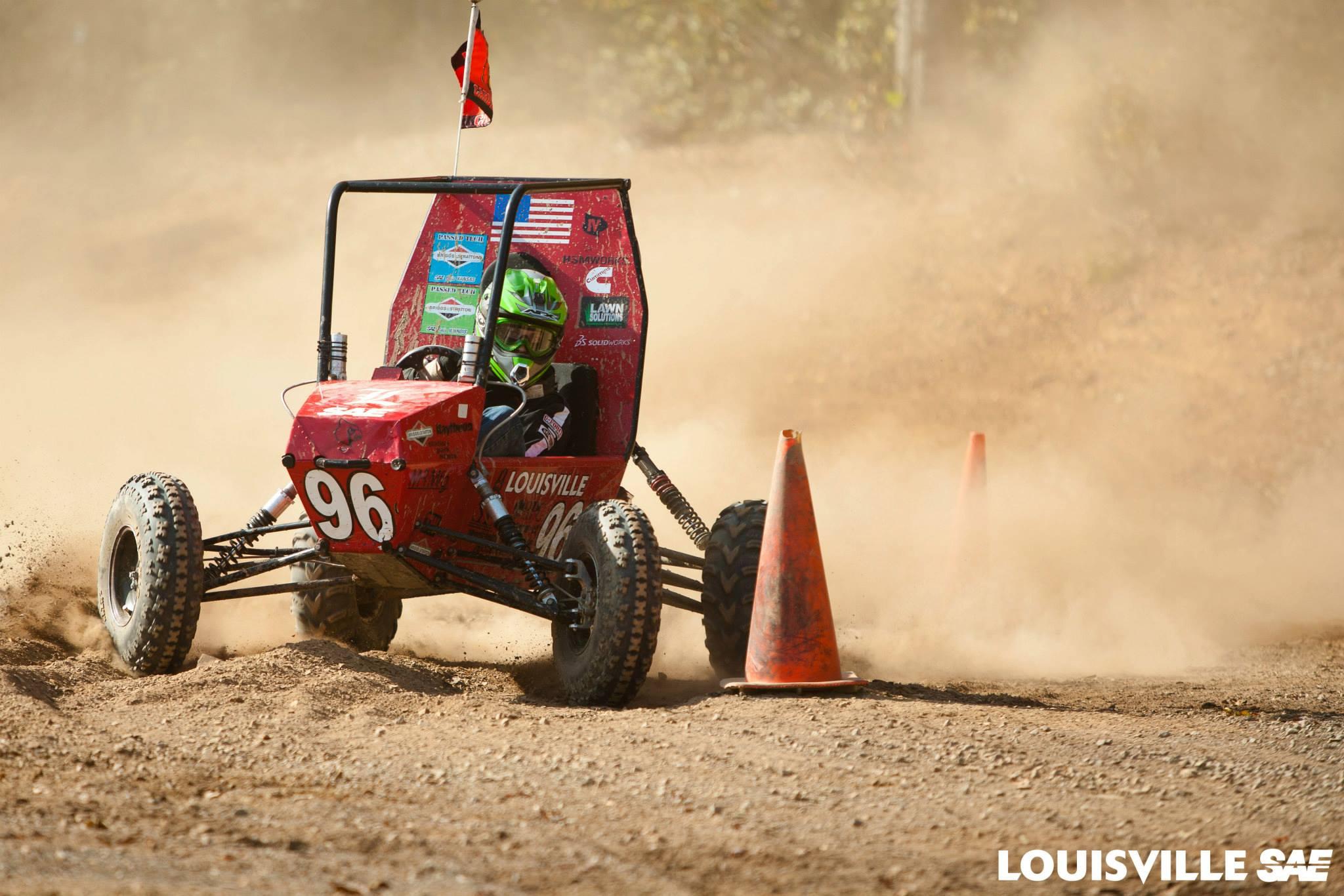 1st Place: University of Louisville - Car# 96   51 Laps