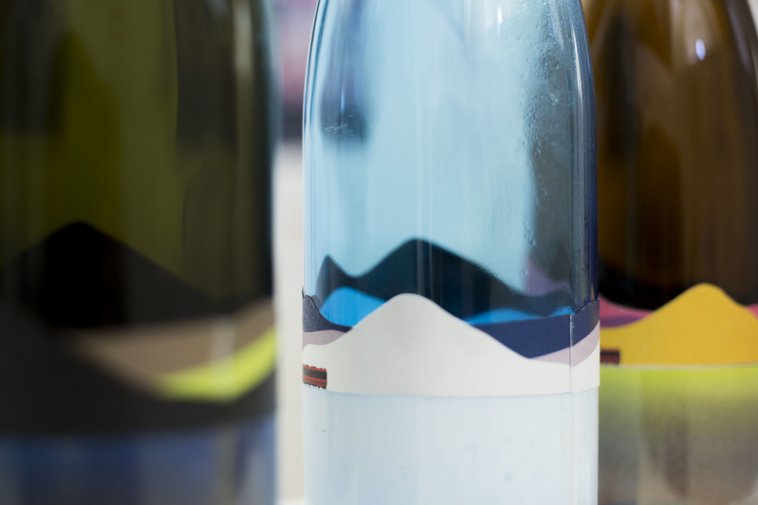 NUA: Sake branding and packaging -