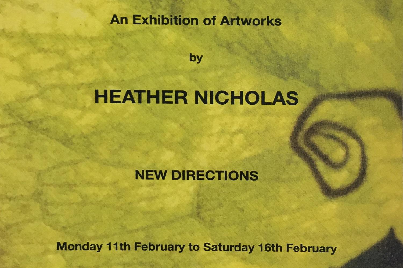 Heather Nicholas: New Directions -