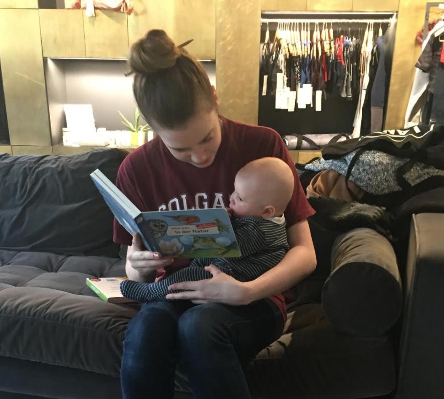 Babysitter Gen with baby Joshua