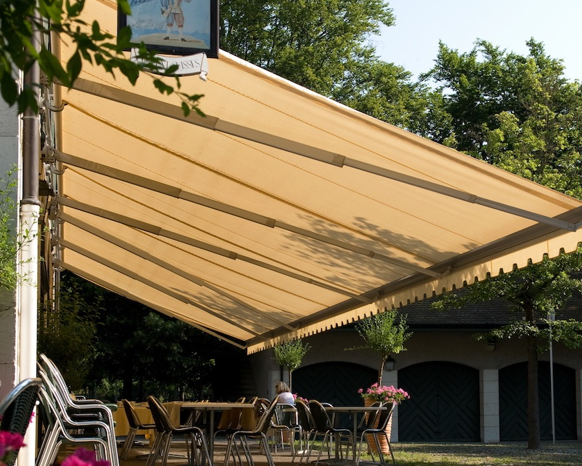 reputable site d7165 aee2e OutHounds - Commercial Canopies and Awnings