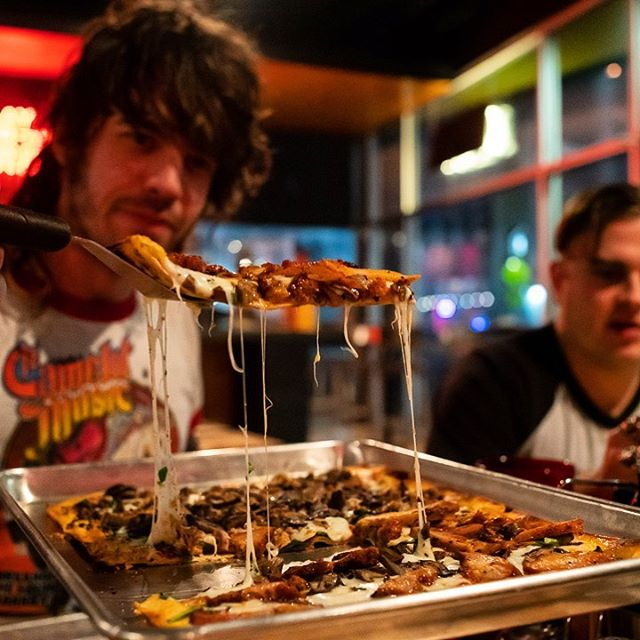 Did you know at Firecracker you can build your own pizza?! We have so many options you'll never have the same pizza twice (unless you want to...) WHAT IS YOUR FAVORITE PIZZA TOPPING!?! #pizzabytheslice #pizza #pizzatime🍕 #pizzamania #firecrackerpizza #stlnightlife #treatyoself #selflove #thegrovestl #stlouis #stlbeer #stlcraftbeer #craftbeer #pizzaparty #fuckyeah #foodforthought #boomstick #beer #toppings #pepperoni #cheese