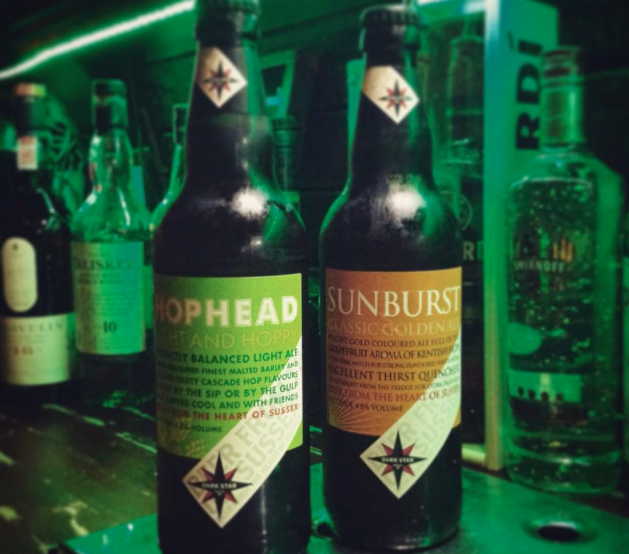 Come and try our latest edition to the bottled ales! Hophead and Sunburst Golden Ale from Dark Star Brewing Co.