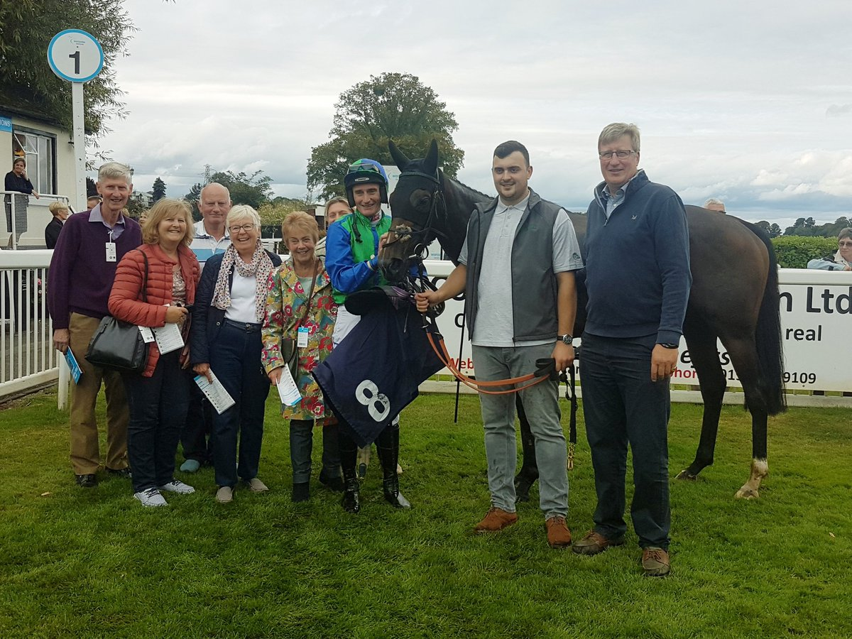 Members of the Case Racing Partnership with winner Sheila Tanist