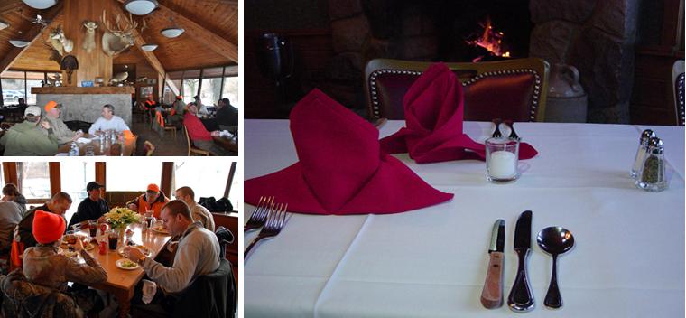 Dining - at Hunters creek club