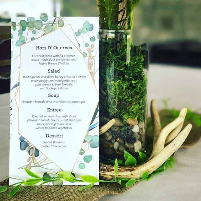 Thank you to our members who joined us for the phenomenal Wild Game Chef's Dinners. Check out these dishes made by @chefwilder and @senkoanna for this 5-course meal. Stay tuned for details for the April dinners. #wildgamedinner #huntclub #chef #chefstagram