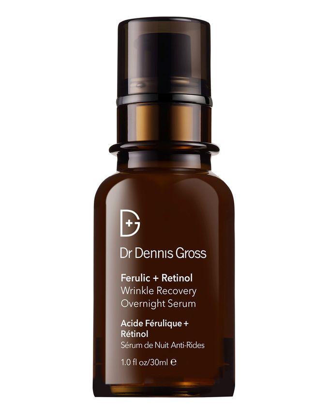 Dr Dennis Gross Skincare Ferulic and Retinol Wrinkle Recovery Overnight Serum
