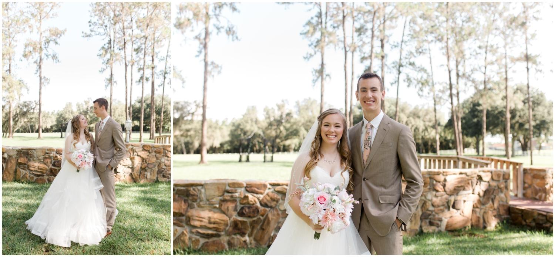 bride and wedding guest