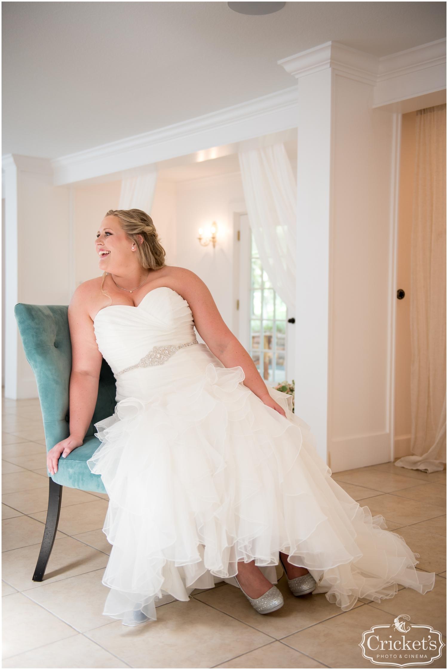 Bride at her Florida Wedding