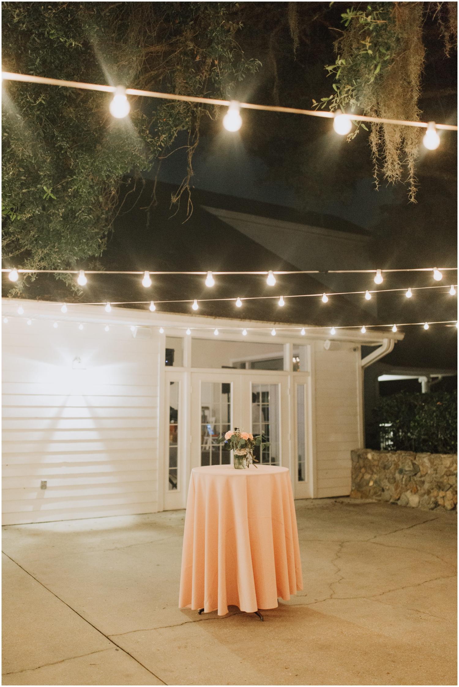 wedding reception/cocktail hour ideas