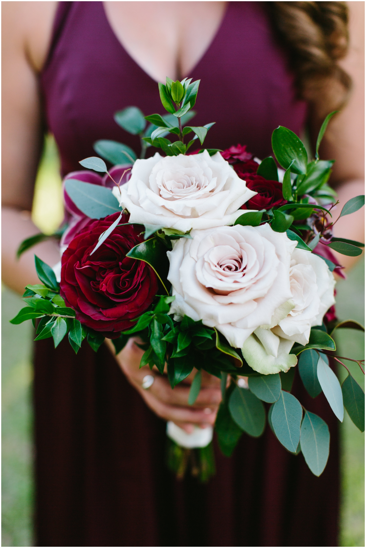 Bridesmaids wedding bouquet