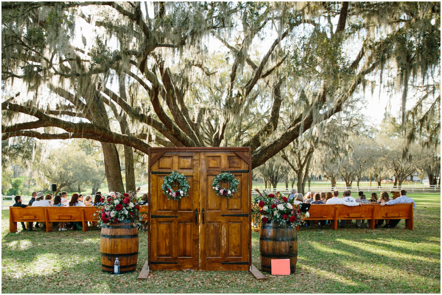 Outdoor ceremony in Florida