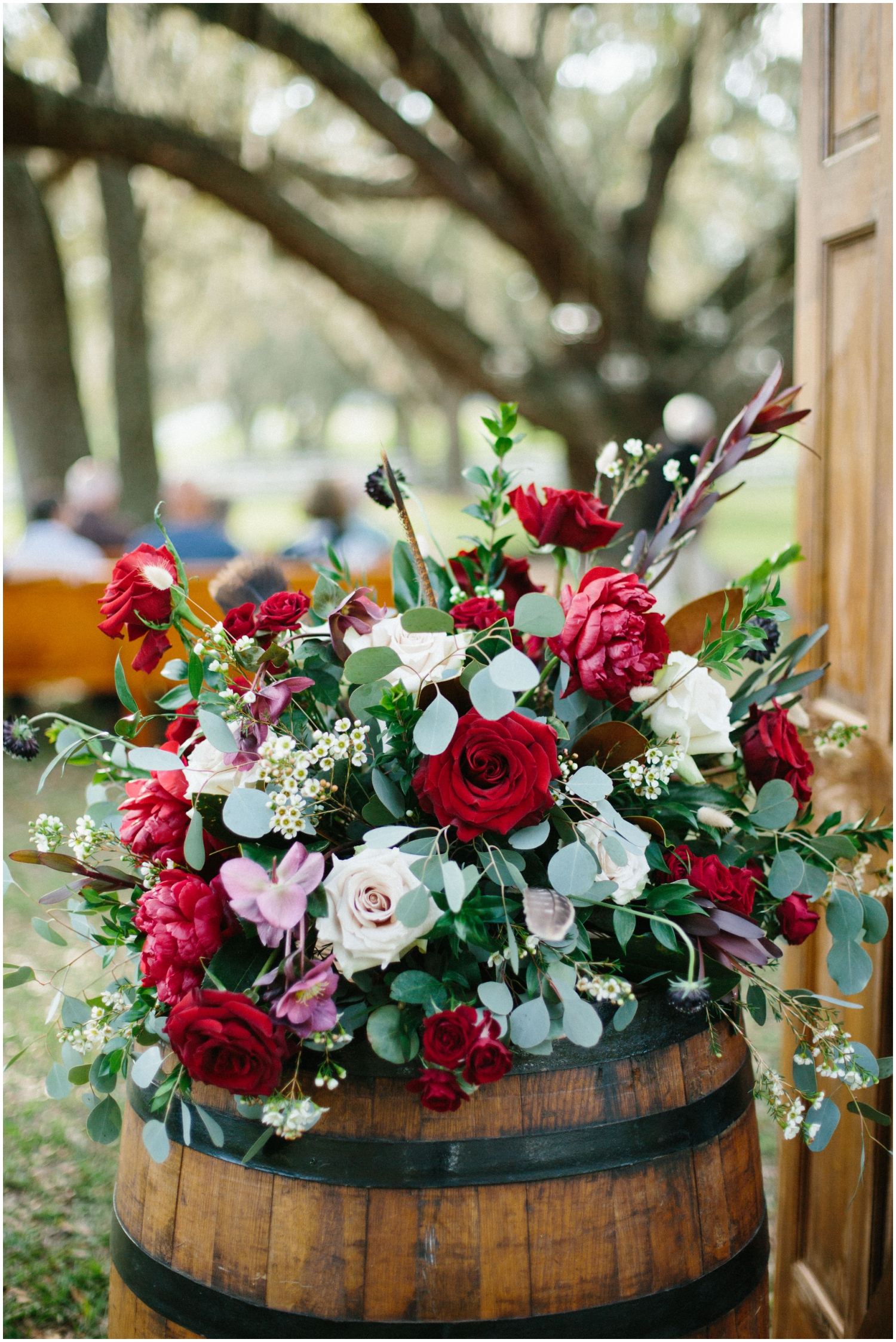 Wedding ceremony decor and floral