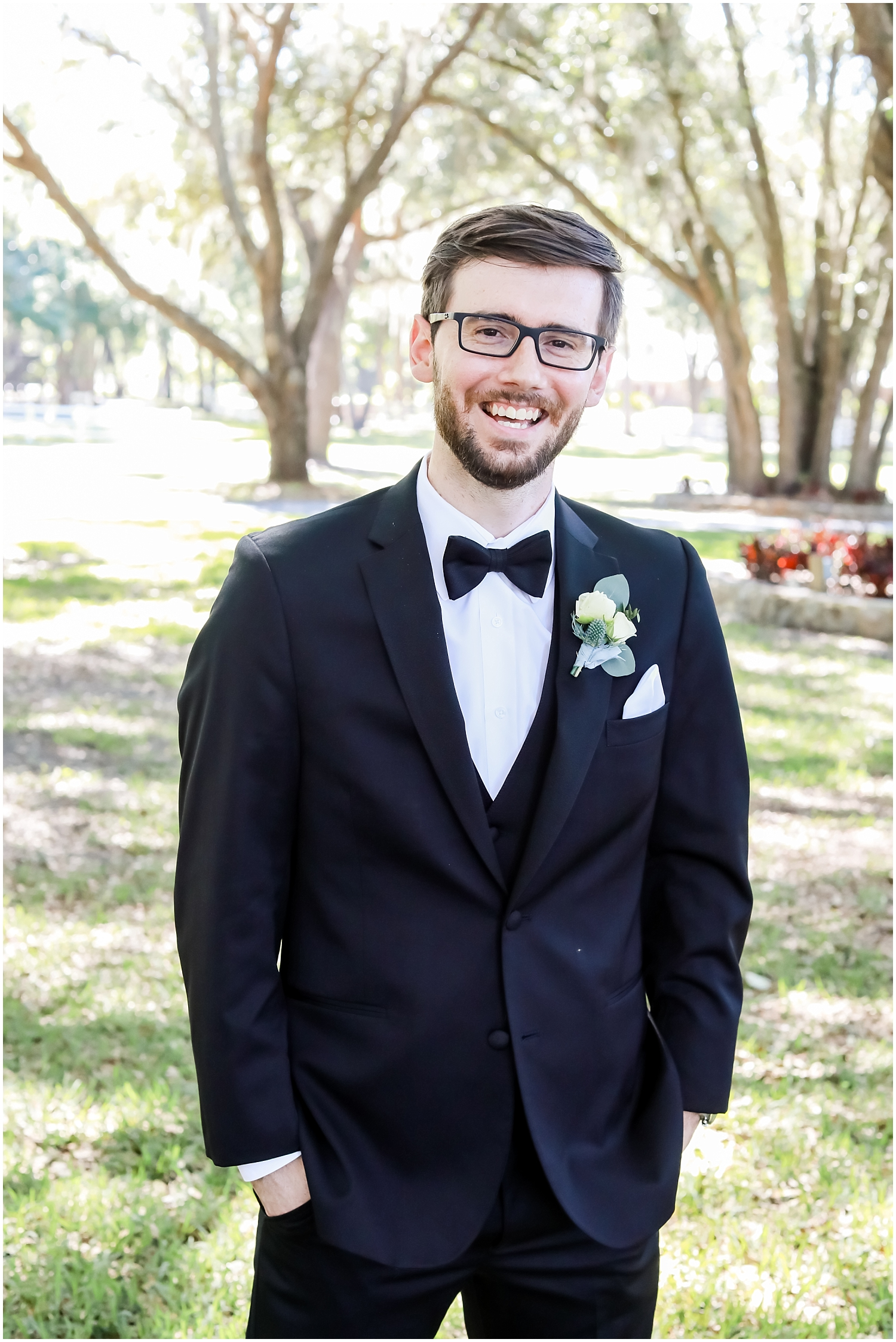 groom portrait at Stonebride Wedding & Events