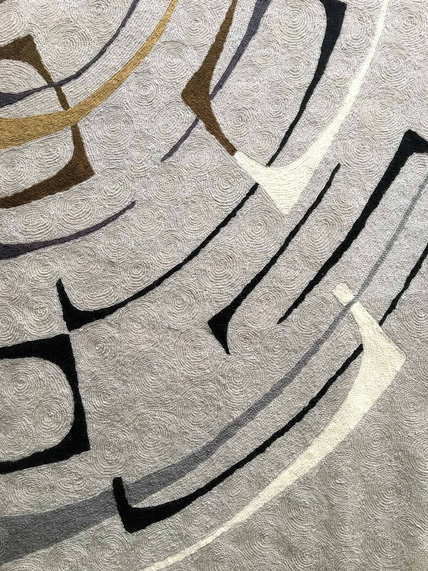 chain-stitch embroidery