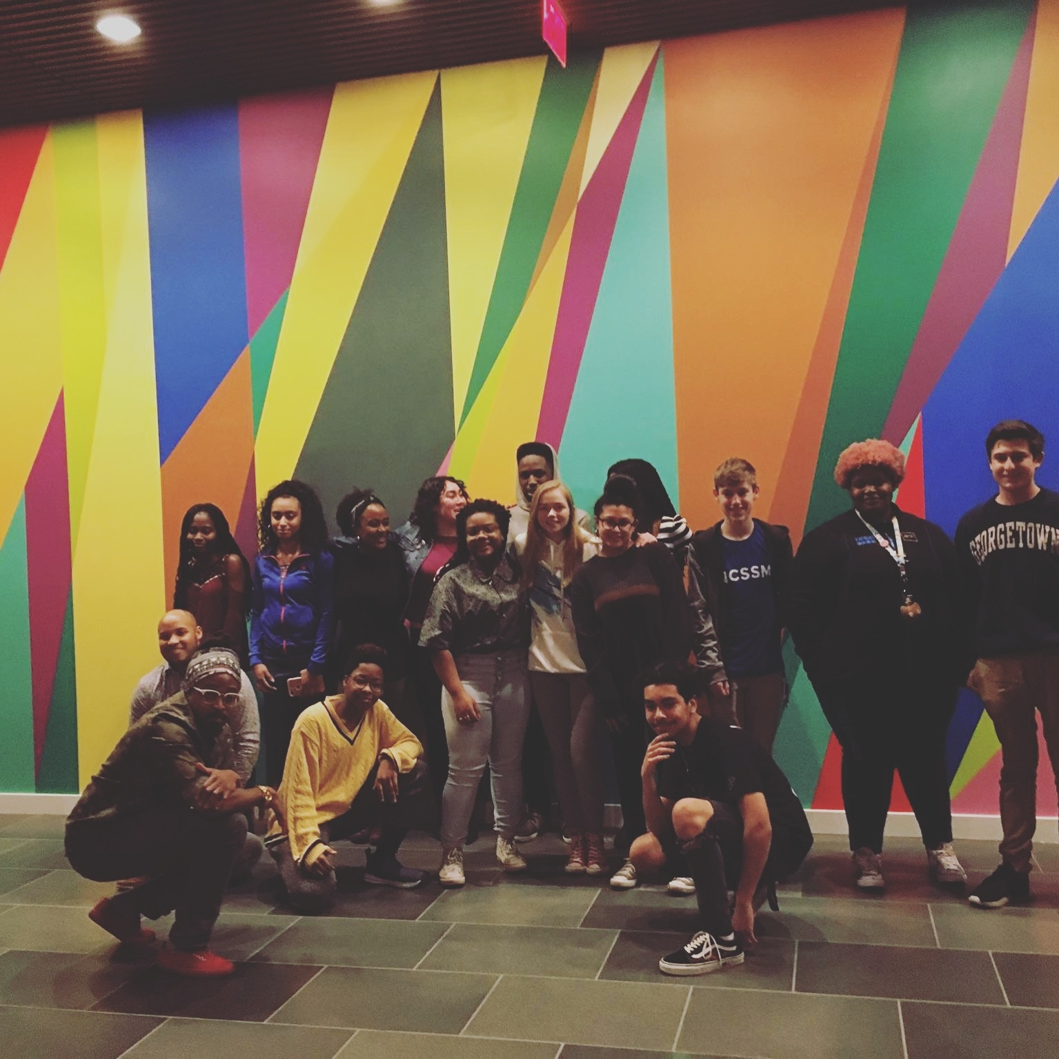 Lek with Nasher Museum Teens!