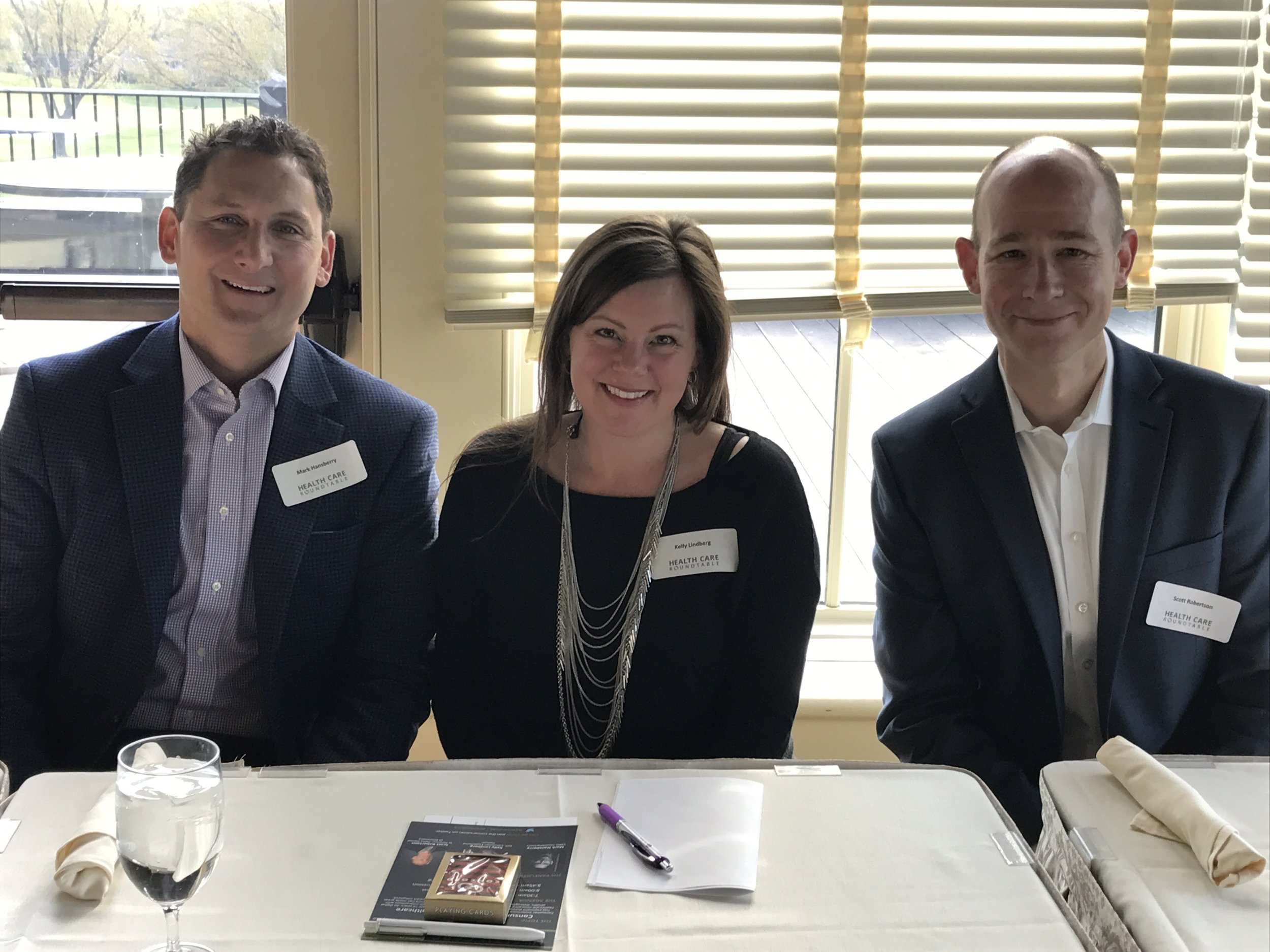Panelists from L to R:Mark Hansberry, Kelly Lindberg, and Scott Robertson.