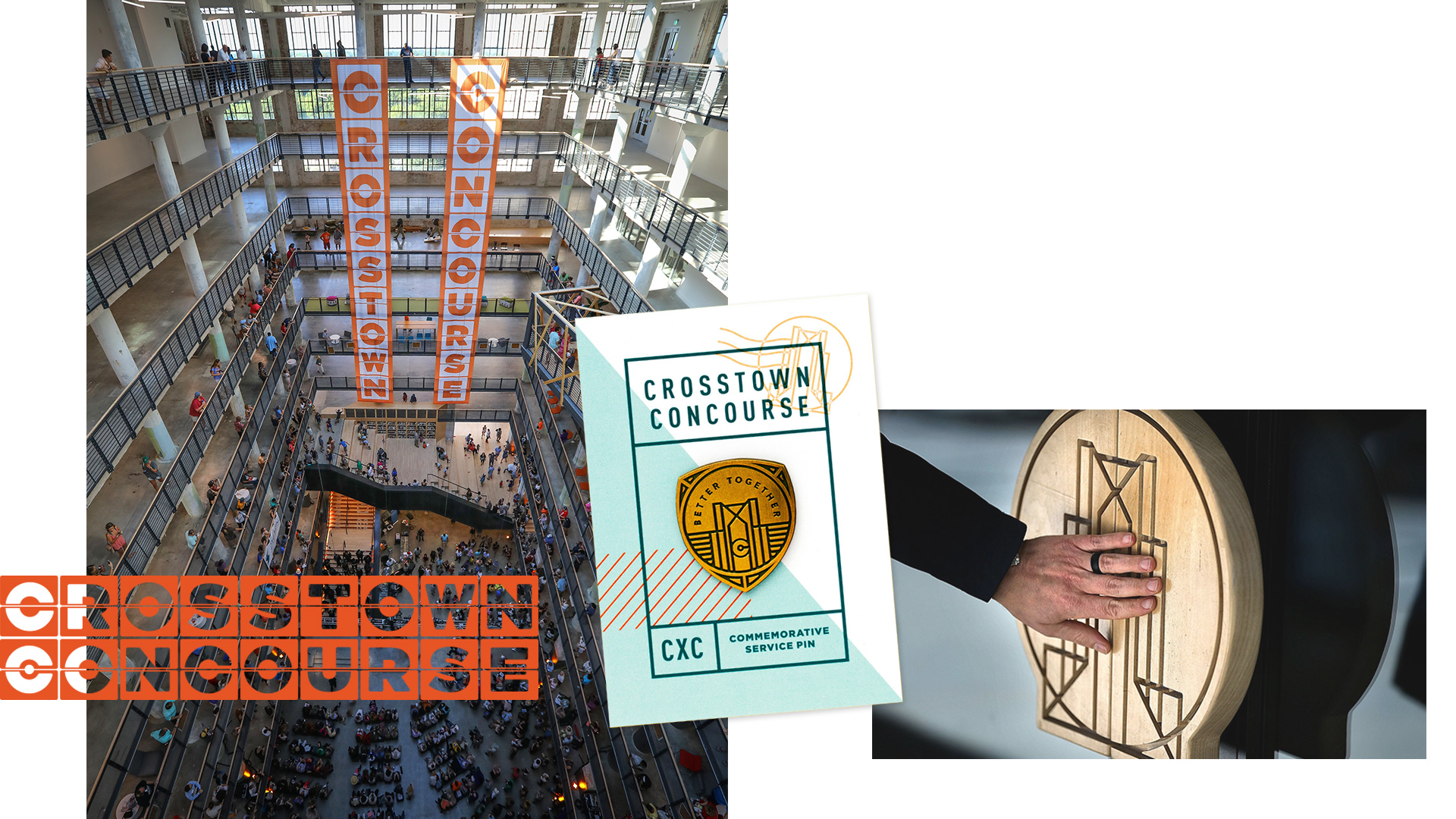 Crosstown Concourse - 90 years of history. 1.5 million square feet of renewal. All hands on deck.