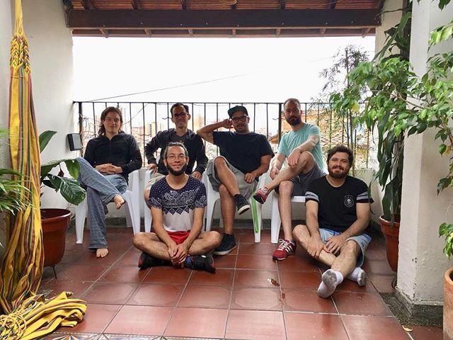 ¡Felices de estar en Medellín! Debutamos hoy en @circulartmc #infibeat #circulart @teatromatacandelas 23:30