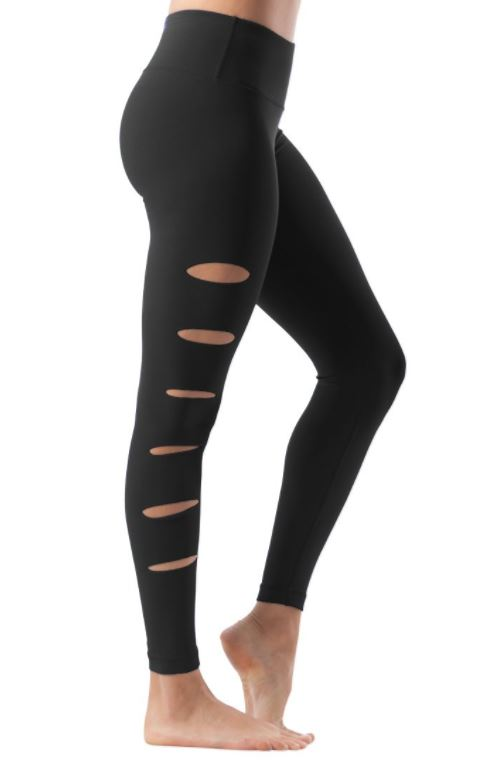 ANKLE LENGTH SIDE CUT LEGGINGS