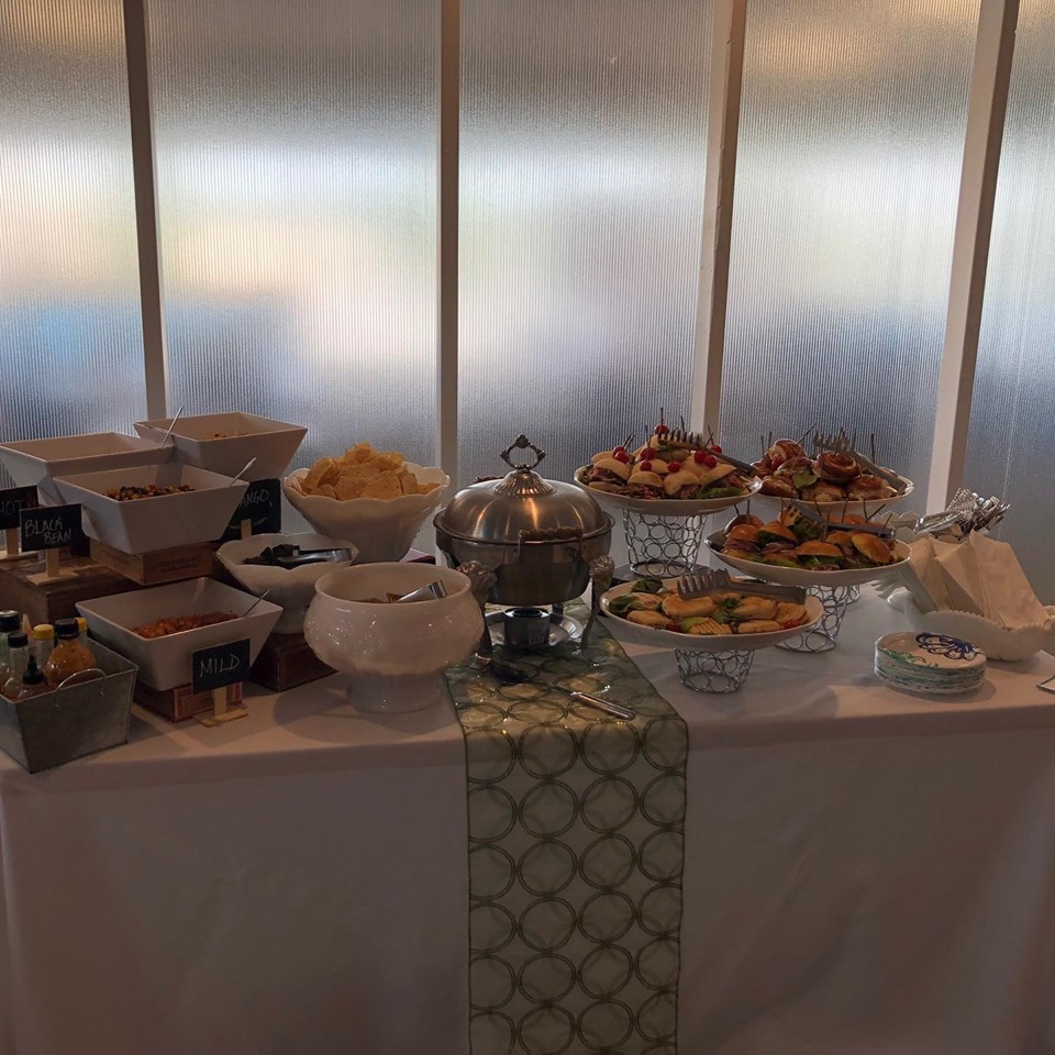 Our food prepared wonderfully by Premier Caterers in Camp Hill, PA