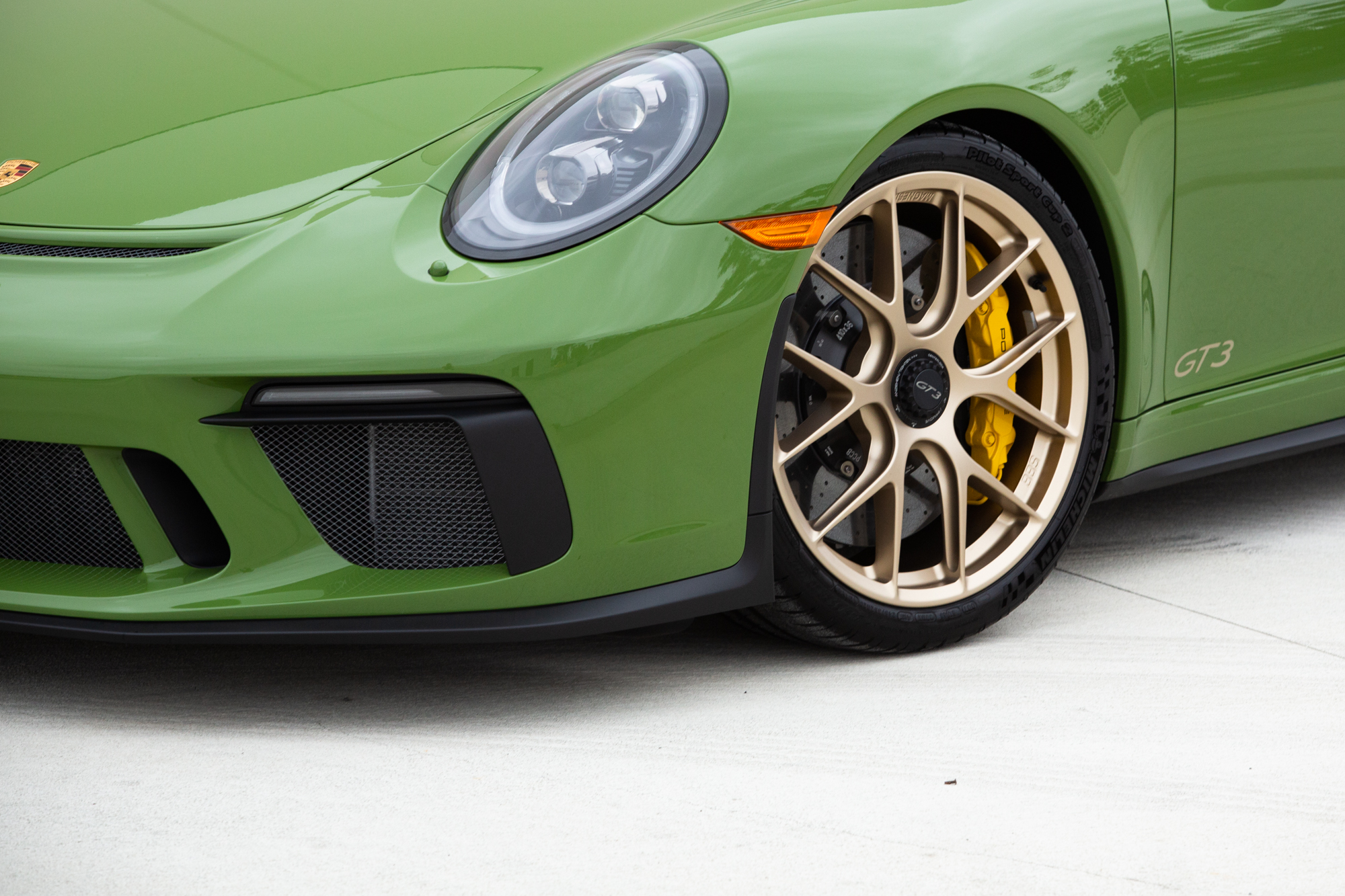 Olive Green GT3 - RXX - August 15, 2018