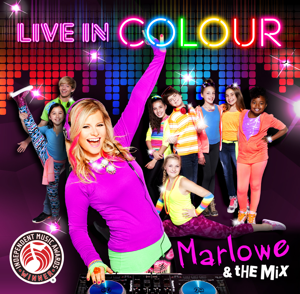 Marlowe & the Mix - Live In Colour