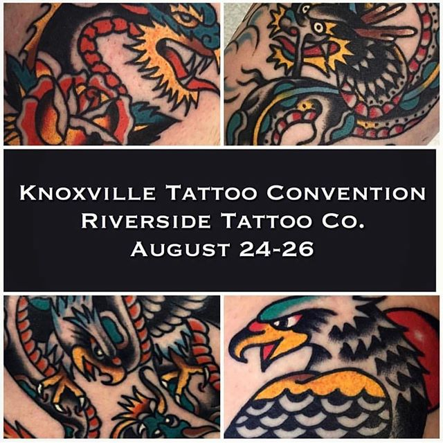 I'll be in Tennessee hanging out with @jordanspeer @nickmorantattooer and @codyhammondtattoos. I still have some availability but also wouldn't mind just doing walk-ups. Email me tookerd@gmail.com