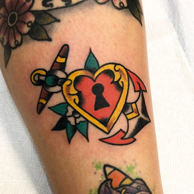 Heavy heart made @riversidetattooma, I have time next week, DM to schedule an appointment or walk in and see me