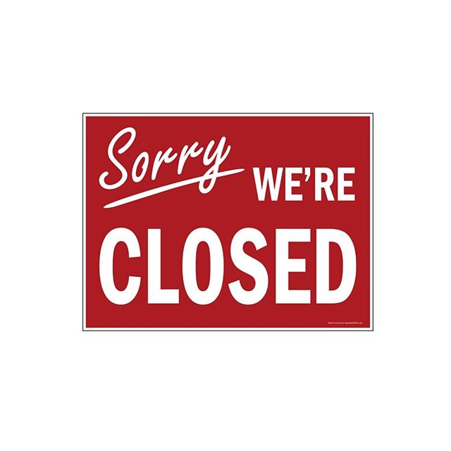 The shop will be closed today. We apologize for any inconvenience and will be back to normal hours tomorrow. Have a great day!