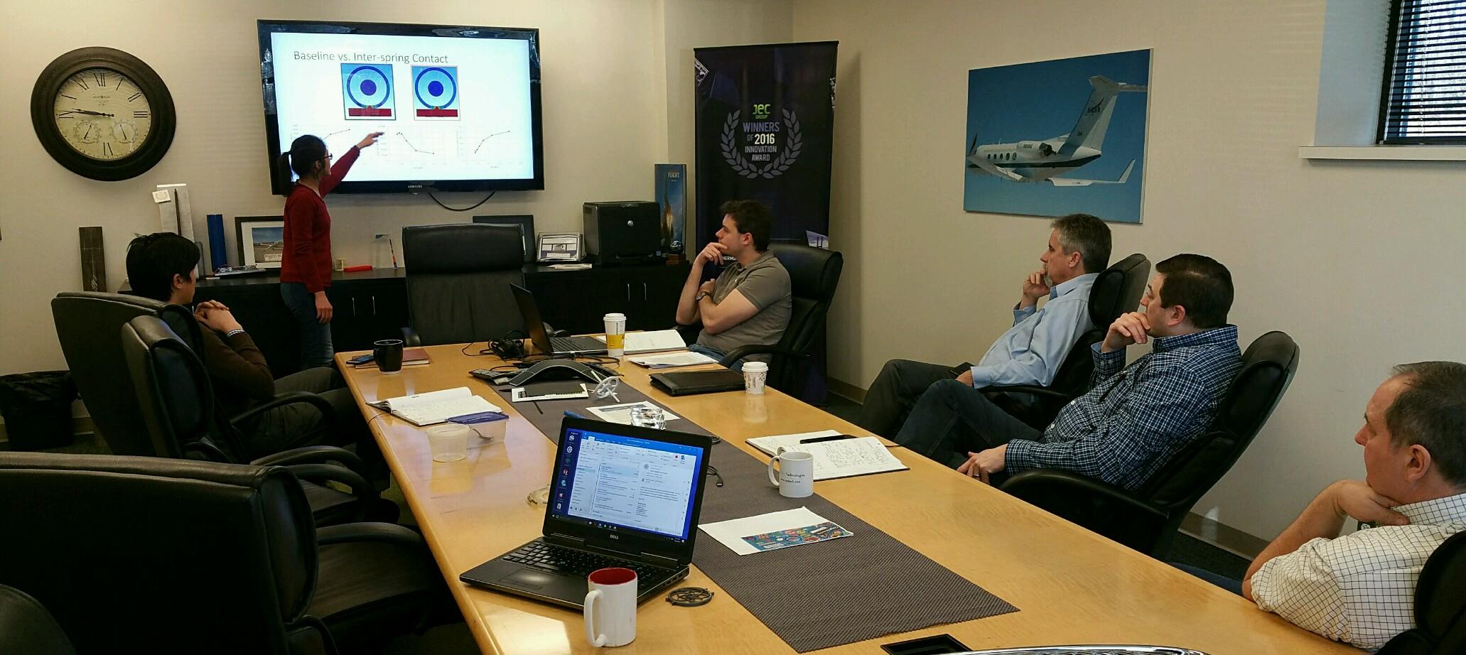An actual brainstorm session at FlexSys.